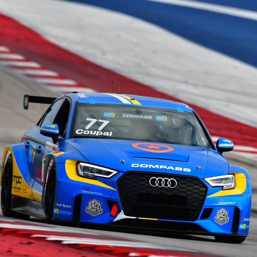 Coupal in the MPC sponsored Audi RS3 LMS