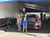 JT Coupal, Race Car Driver with Fans
