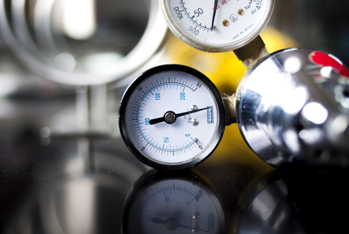 precision components for gauges and instrumentation